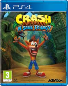 Crash Bandicoot N. Sane Trilogy - Half Price (£14.99) when you trade in a selected game - Game