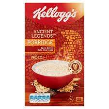 Kellogg's Ancient Legends porridge only 39p down from  £2.99 @ Heron