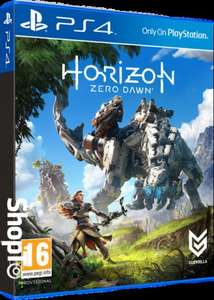 Horizon Zero Dawn PS4, £26.86 @ShopTo - maybe cheaper if logged in too