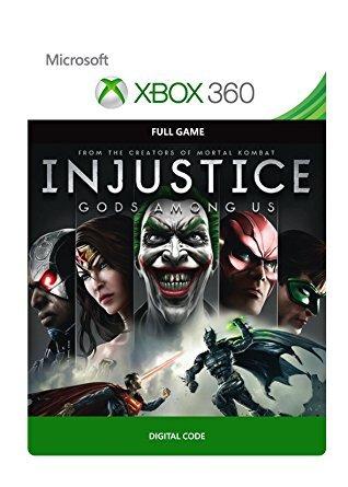 Injustice Gods Among Us - Xbox 360/One (BC) Digital Download - £3.74 Amazon