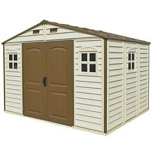 woodside duramax plactic 10x8 shed £437.33 @ Amazon (now £425.12 )
