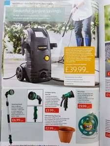 Workzone (Aldi) pressure washer £39.99