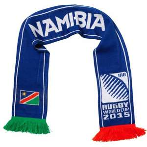 Namibia Rugby World Cup scarf (Save £12.70, was  £12.99) 29p + £4.99 delivery  from M and M Direct