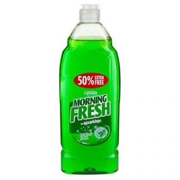 POUNDLAND: Morning Fresh Washing Up Liquid: 2 x 675ml Bottles (Incl. 50% FREE) for £1