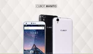 Cubot Manito 4G 5.0 inch Quad Core 3GB + 16GB Dual SIM Android 6.0 £54.69 @ Aliexpress Store: China Brands AE Technology Co., Ltd.