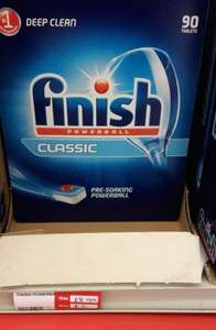 Finish Classic 90 Powerball dishwasher tablets £5 @ Office Outlet