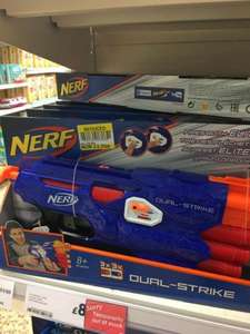nerf n-strike dual strike. tesco in-store Stratford on avon £1.50