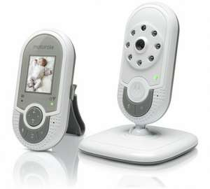Baby Night Vision Video+temperature monitor- Motorola MBP621. Argos