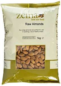 Zeina Almonds, 1 kg  £8.35 Prime (was £12.99!) £13.10 (Non Prime)
