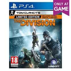 The Division Limited Edition (PS4) £9.99 NEW @ Game