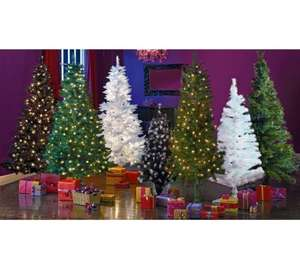Green Pre-lit Christmas Tree - 6ft £4.99 @ Argos - Free C&C