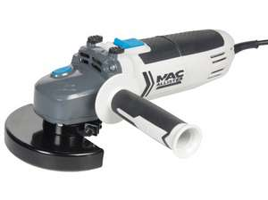 Mac Allister 750W Angle Grinder £15 with 2 years guarantee @ B&Q (Free C+C)