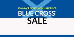 Debenhams blue cross sale now on - some items reduced by 70%