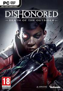 Dishonored Death of the Outsider - PC DVD [Amazon] £14.99 [£12.99 with Prime]