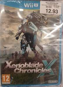 Xenoblade Chronicles X Wii U £12.93 Instore @ Toys R Us