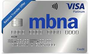 MBNA: 42 months 0% on balance transfers (2.79% fee) or 30 months (0.64% fee)
