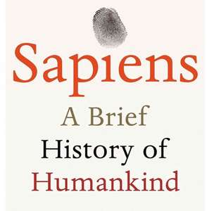 Sapiens - A brief history of Humankind ( Paperback ) £3.85 (Prime / £6.84 non Prime) - Amazon