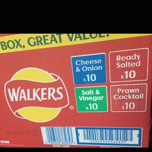 Asda 40 walkers crisps £2 instore!