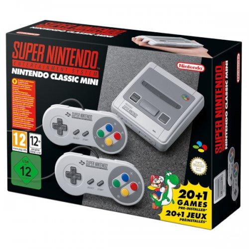 Nintendo Classic Mini: Super Nintendo Pre Order @ Grainger Games - £84.99