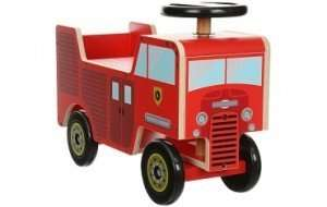 Kiddimoto wooden ride-on toys reduced from £50 to £20, but scanning at £10 instore at Halfords!