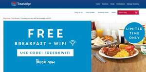 Travelodge: Free Breakfast and WiFi