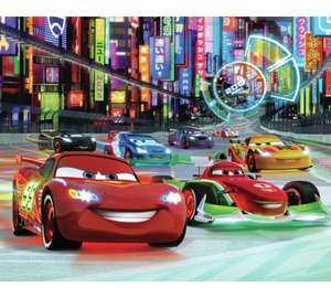 Walltastic Disney Cars Wall Mural 8ft x 10ft - £10 @ Argos