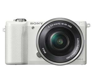 Sony A5000 50mm Lens Compact System Camera £309 @ Argos