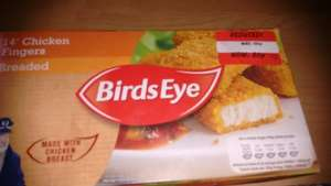 birds eye 14 chicken finger 80p Asda Weymouth