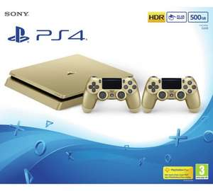 PS4 Slim console 500GB Limited Edition Gold/Silver + Street Fighter V £249.99 @ Argos