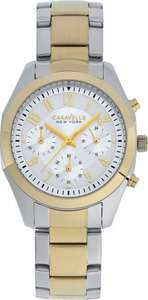 Caravell NY Ladies' Melissa Two-Tone Chonograph Watch Argos on eBay £14.99