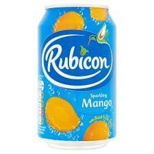Rubicon Mango cans 12 for £3.75 instore @ Tesco