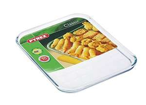 Pyrex Borosilicate Glass Baking Tray £4.25 - Amazon Prime Exclusive
