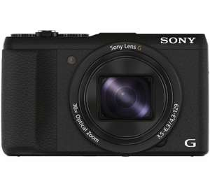 Sony Cyber Shot hx60vb super zoom compact camera £179.99 - Currys