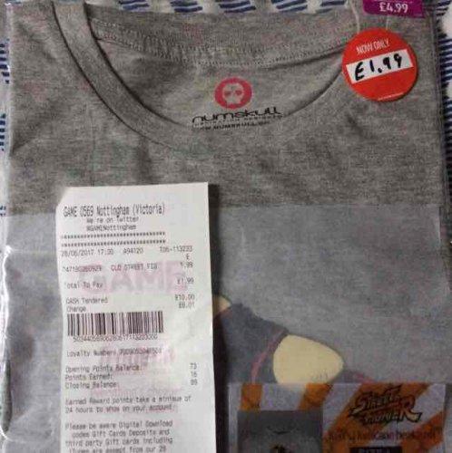Street Fighter V Ken T-shirt - Large £1.99 (GAME Victoria Centre Nottingham)