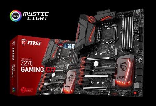 MSI Z270 GAMING M5 Intel Z270 Motherboard (skt 1151) + ID-Cooling AIO FrostFlow 240L Watercooler + £25 Cashback - £162.30 @ Novatech