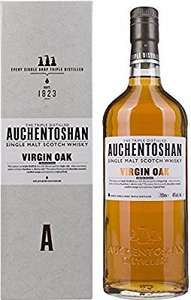 Seventy litres of Auchentoshan Virgin Oak for £69.79 Amazon sold by Drink Finder.