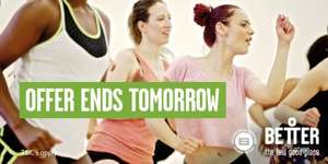 Better Gym GLL Mile End - £20 off first payment and no joining fee until Friday (Mile End Park Leisure Centre)