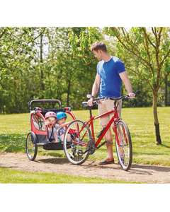2 child two in one bike trailer and stroller £99.99 delivered or in store from 6th July @ Aldi