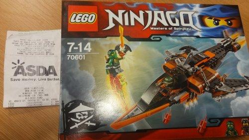 LEGO Ninjago Sky Shark 70601 down to £1.80 instore @ ASDA (Old Kent Road)
