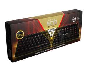 Turtle Beach Impact 600 Backlit Mechanical Keyboard - Cherry MX Brown Switches - £44.99 @ Ebay / tabretail