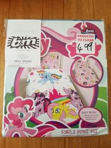 My Little Pony Single Duvet Set scanning at £1 @ B&M Stores - Portrack Lane Stockton-on-Tees