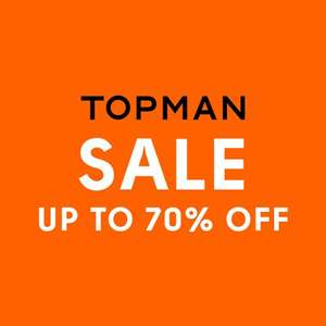 Topman up to 70% off sale