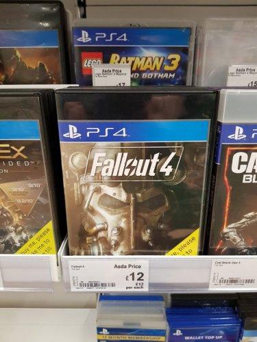 Fallout 4 Ps4 - £12 instore @ Asda