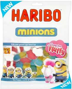 Haribo Minions (150g) was 77p now 50p @ Morrisons