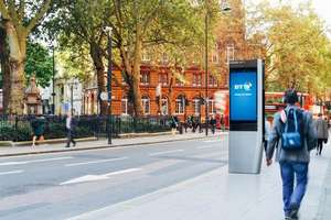 Free Ultra Fast Wifi,Call,Map from BT inlinkuk - London more locations to follow
