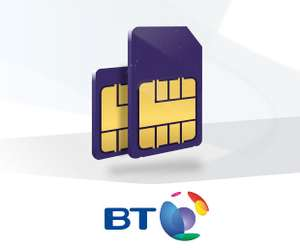 Unlimited Minutes, Unlimited Texts, 20GB 4G PLUS £95 Amazon / iTunes Voucher £16PM (BT) £21PM (Non-BT) 12mo **Now live**(£192 total duration) @ BT