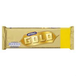 McVitie's Gold 21 Pack  Crunchy Biscuit Bars with a Caramel Flavour Coating ONLY £2.00 @ Poundland
