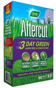 Aftercut 3 Day Green Lawn Feed and Conditioner, 80 sq m (2.8 kg) @ Amazon Prime £1.00