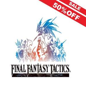 50% off Final Fantasy Tactics: The War of the Lions. Android (£5.49), iPhone (£5.99), iPad
