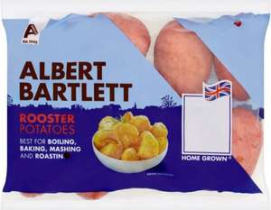 Albert Bartlett Rooster Potatoes (2kg) wqas £2.60 now only £1.30 @ Sainsbury's